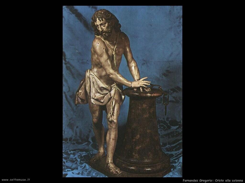 fernandez gregorio Cristo alla colonna