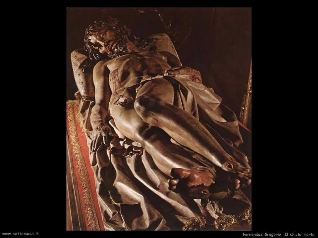 fernandez gregorio  Il Cristo morto