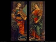 ferrari gaudenzio Santa Cecilia con donatore