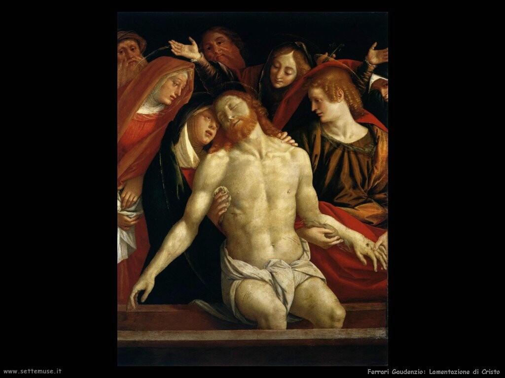ferrari gaudenzio Lamentazione per Cristo