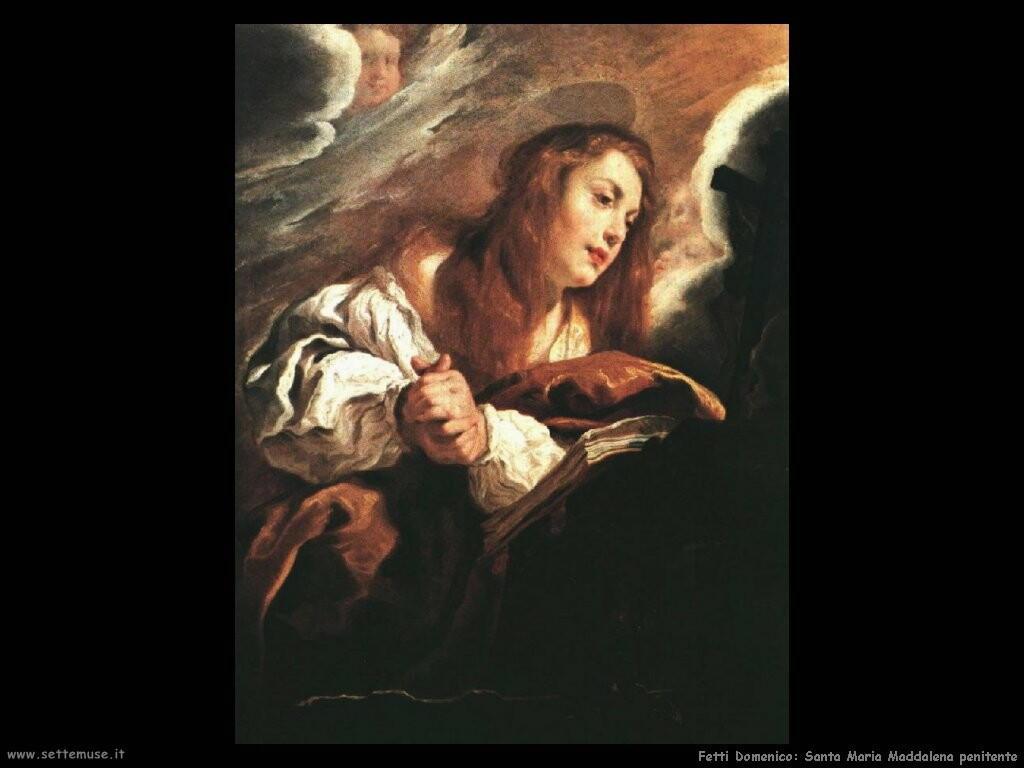 fetti domenico  Santa Maria Maddalena penitente
