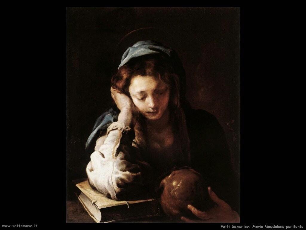 fetti domenico  La penitente Maria Maddalena