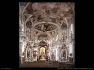 feuchtmayr joseph anton Interno con decorazioni a stucco