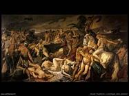 anselm feuerbach  La battaglia delle Amazzoni