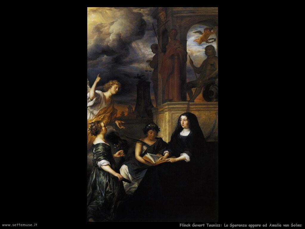 flinck govert teunisz La speranza di Amalia van Solms