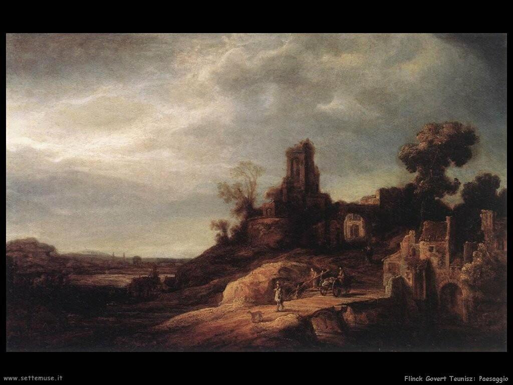 flinck govert teunisz Paesaggio
