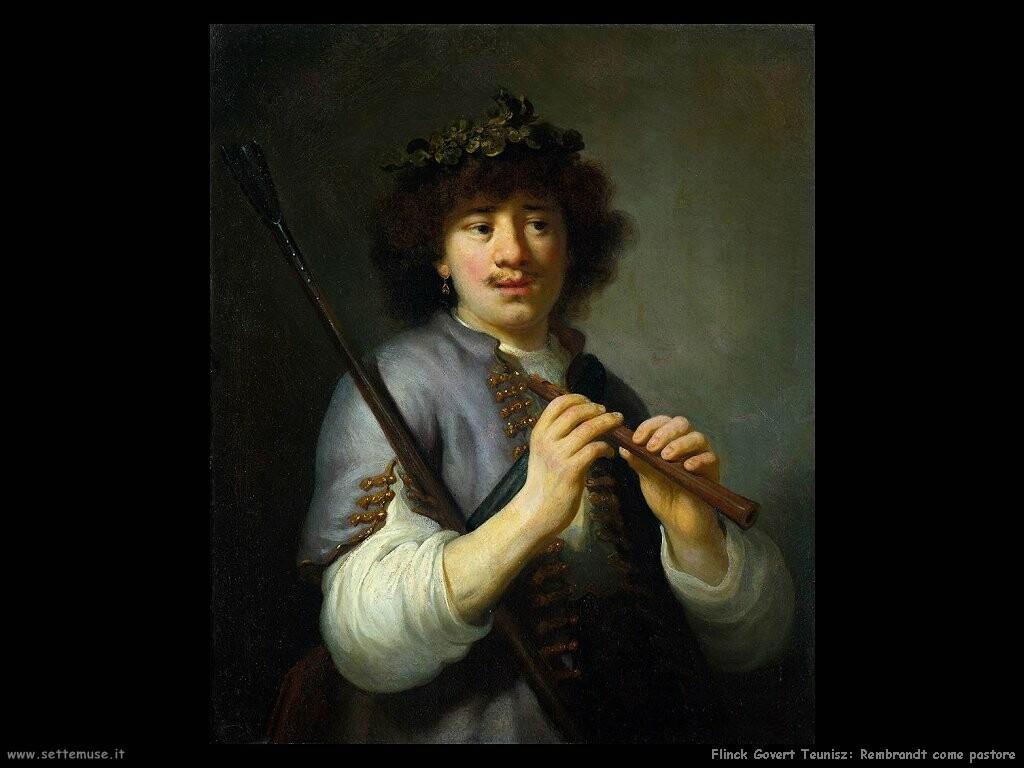 flinck govert teunisz Rembrandt come pastorello