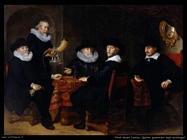 flinck govert teunisz Quattro governatori degli archibugeri