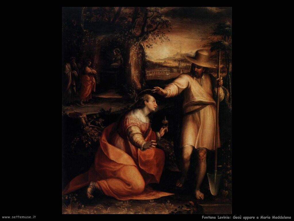 fontana lavinia Gesù appare a Maria Maddalena