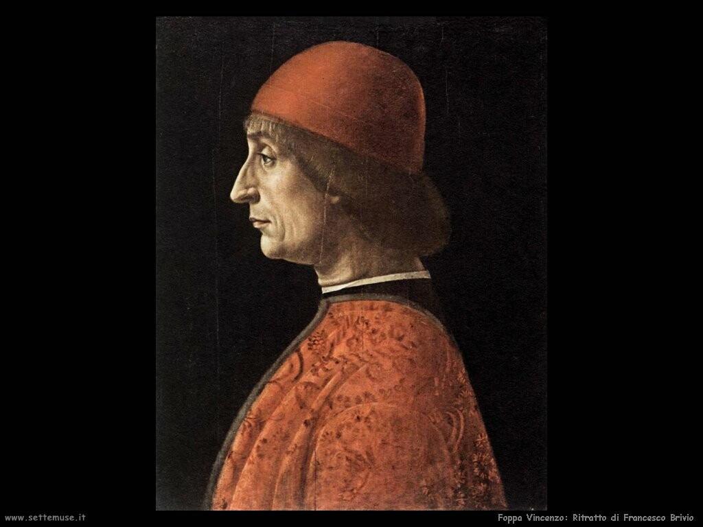 foppa vincenzo Ritratto di Francesco Brivio