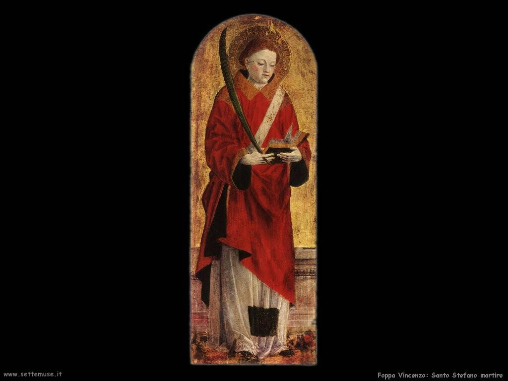 foppa vincenzo Santo Stefano martire