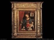 foppa vincenzo Madonna con bambino e un angelo