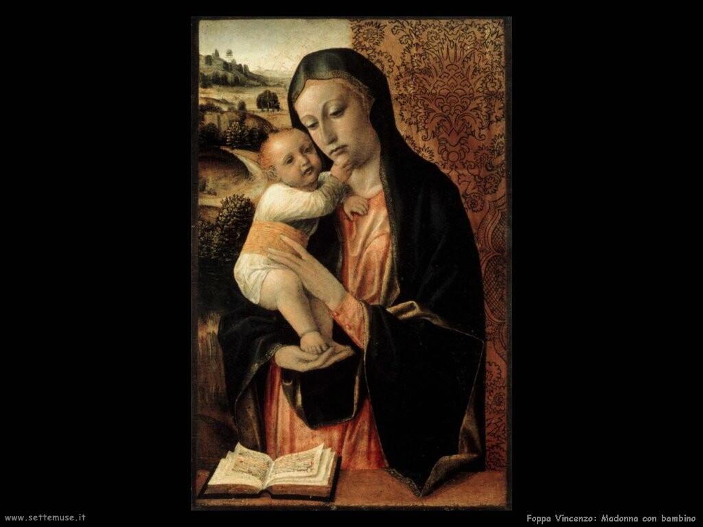 foppa vincenzo Vergine con bambino