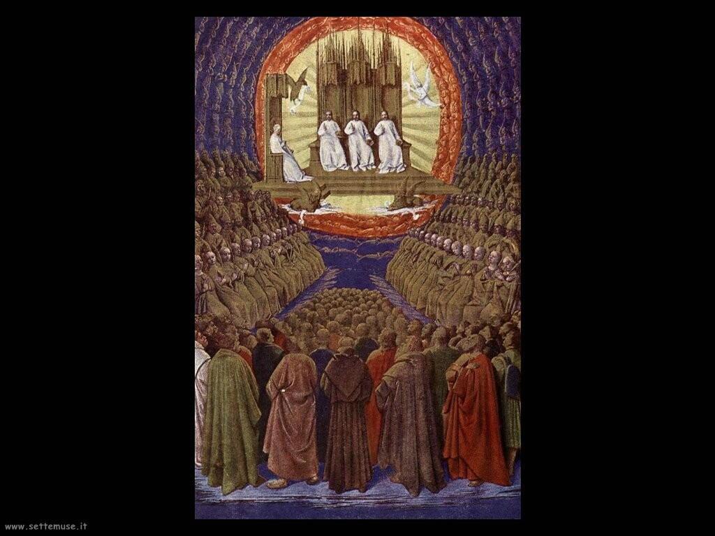 fouquet jean  La sepoltura della Vergine