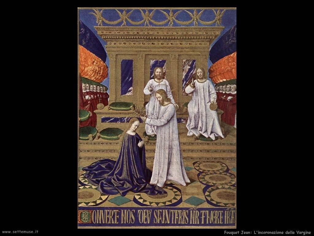 fouquet jean  Incoronazione della Vergine