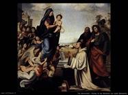 fra bartolomeo Visione di san Bernardo con san Benedetto