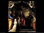 fra bartolomeo Il matrimonio di santa Caterina da Siena