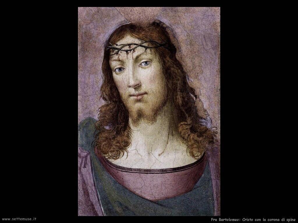 fra bartolomeo Cristo con la corona di spine