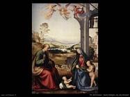 fra bartolomeo Sacra famiglia con san Giovanni