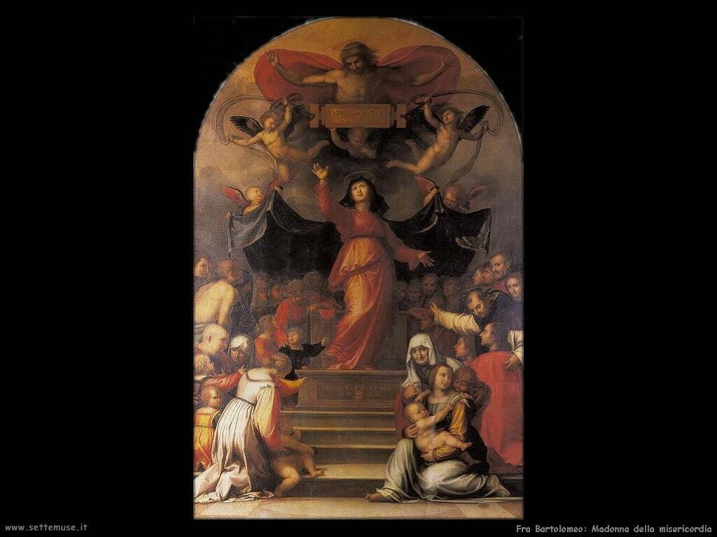 fra bartolomeo Madonna della misericordia