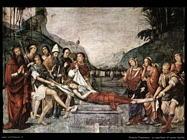 francia francesco La sepoltura di santa Cecilia