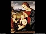 francia francesco Madonna con bambino