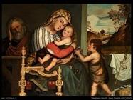 frangipane niccolo Sacra famiglia con l'infante san Giovanni
