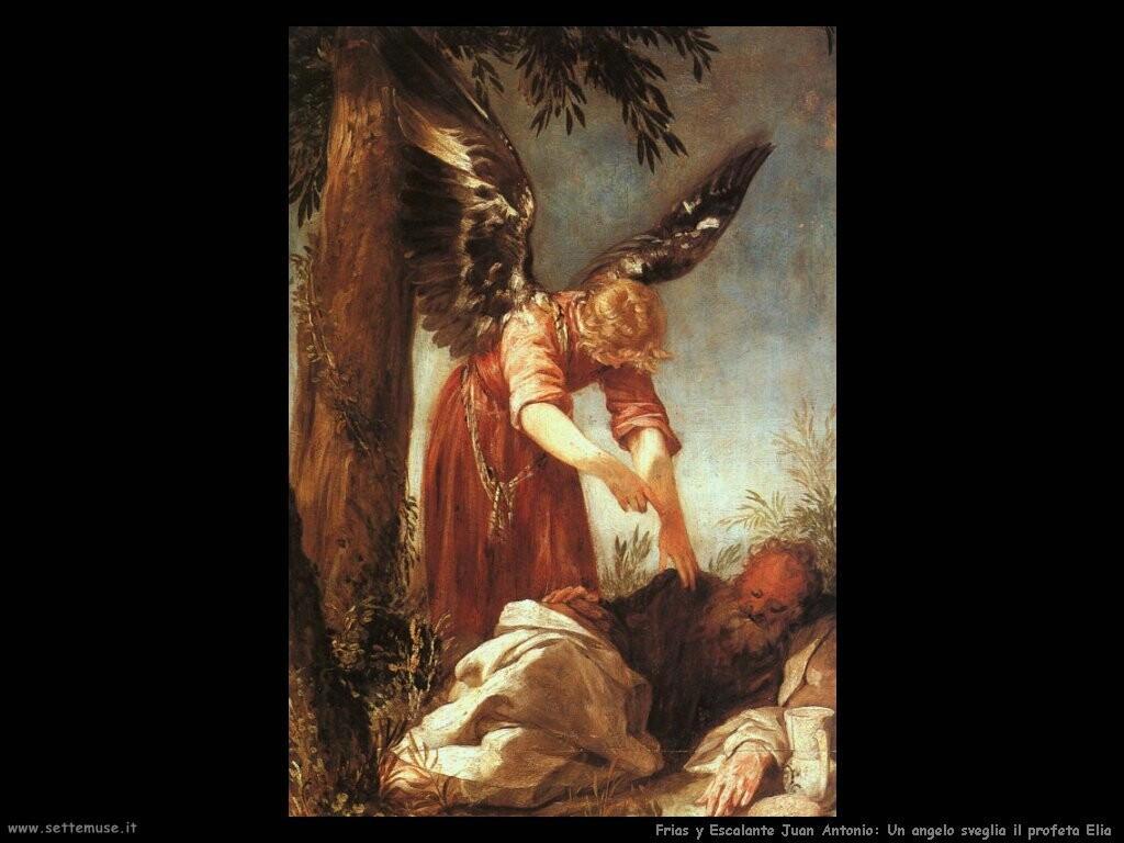 frias y escalante juan antonio Un angelo sveglia il profeta Elia