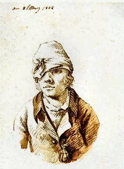 Autoritratto di Caspar David Friedrich