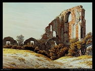 caspar david friedrich  Rovine di Eldena