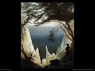 caspar david friedrich  Chalk cliffs