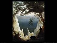 caspar david friedrich  Chalk cliffs
