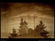 caspar david friedrich Croce nelle montagne