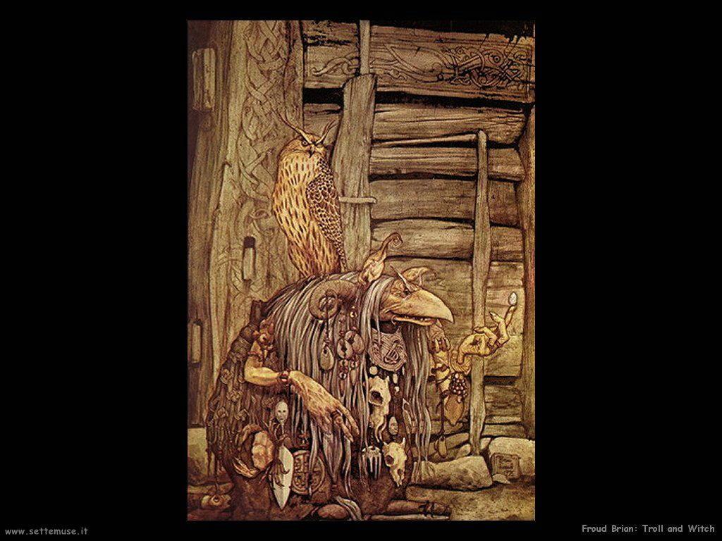 Froud Brian: illustrazioni di fate, troll, elfi, gnomi