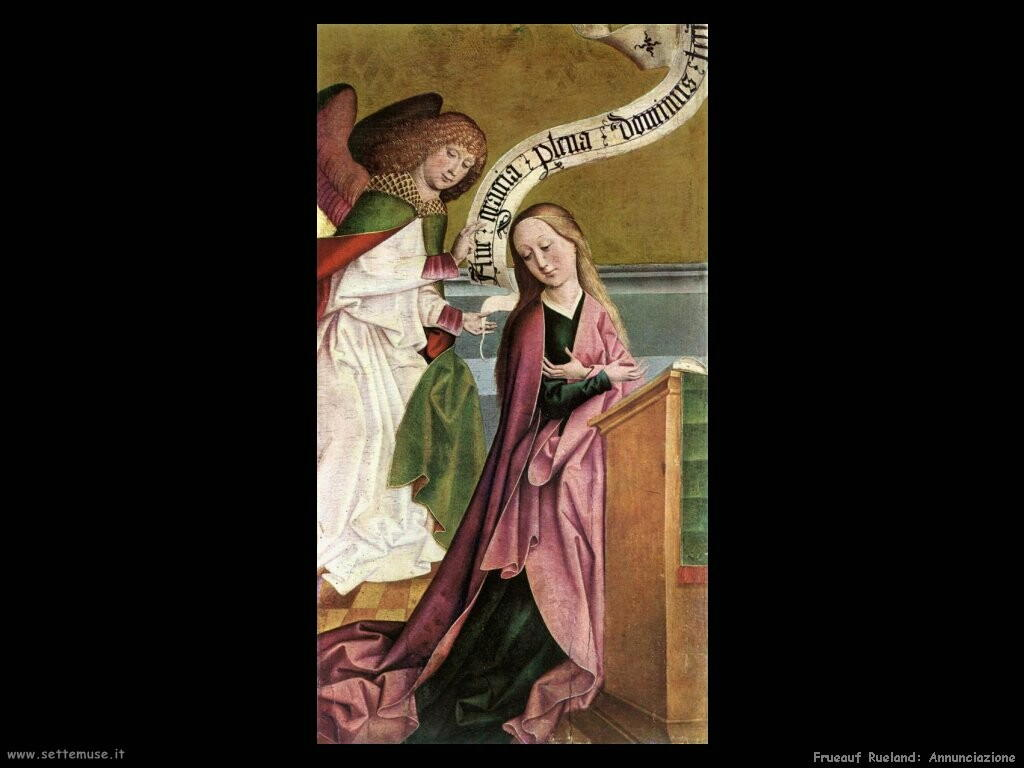 frueauf rueland Annunciazione