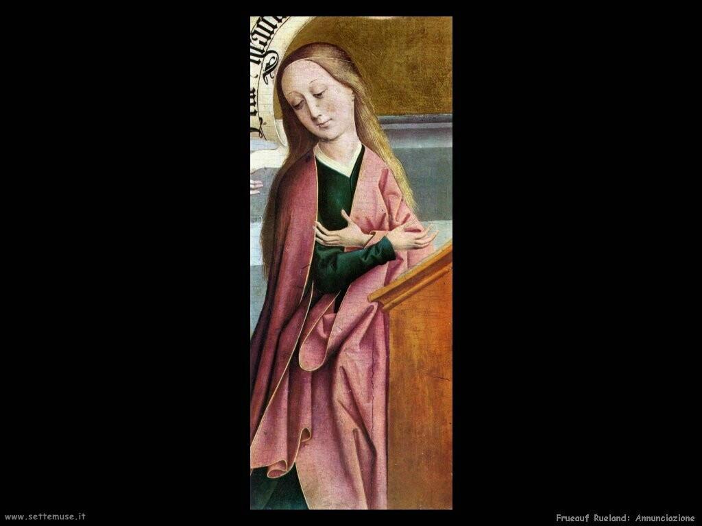 frueauf rueland Annunciazione (dett)