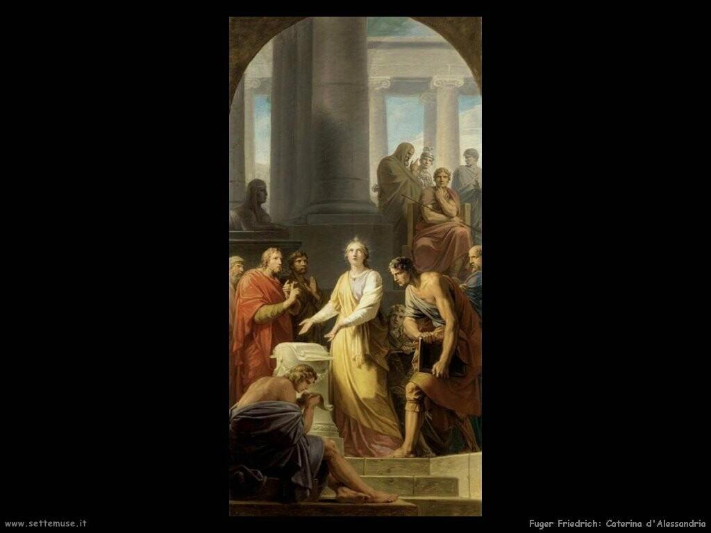 fuger friedrich heinrich  Caterina di Alessandria