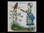 Greenaway Kate Bimba con pappagallo