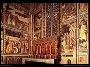 gaddi taddeo  Vista generale della cappella Baroncelli