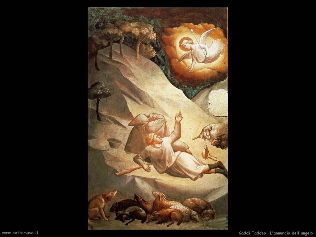 gaddi taddeo L'angelico annuncio