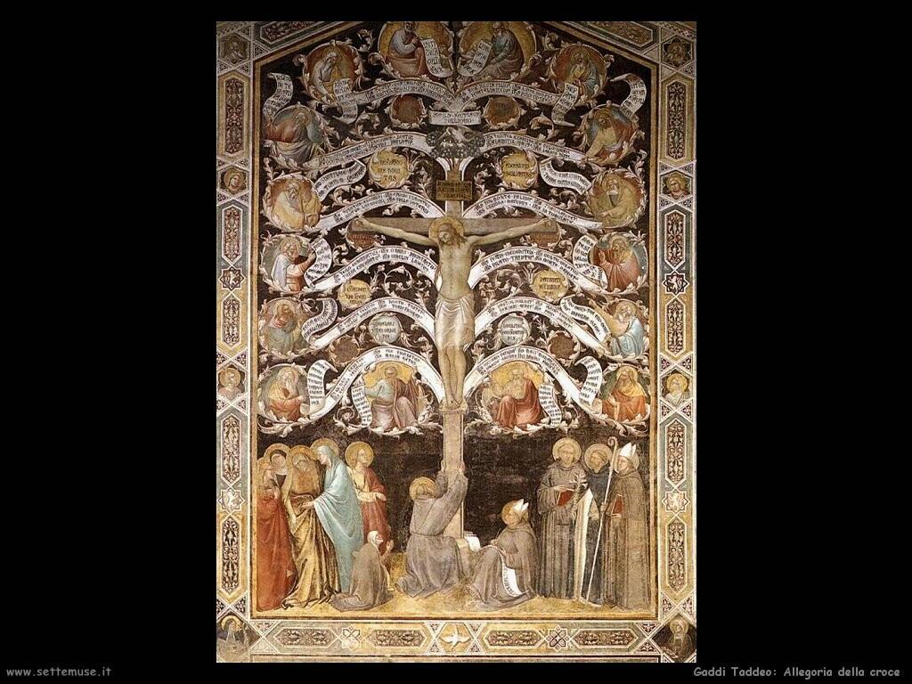 gaddi taddeo Allegoria della croce