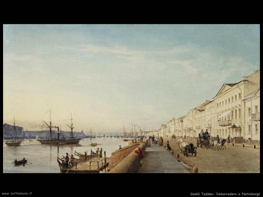 gaertner eduard  Banchina inglese in Petersburg