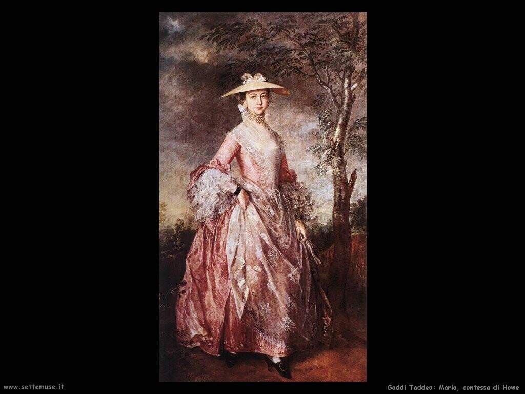 gainsborough thomas Mary contessa di Howe