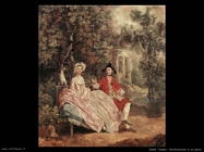 gainsborough thomas Conversazione in un parco
