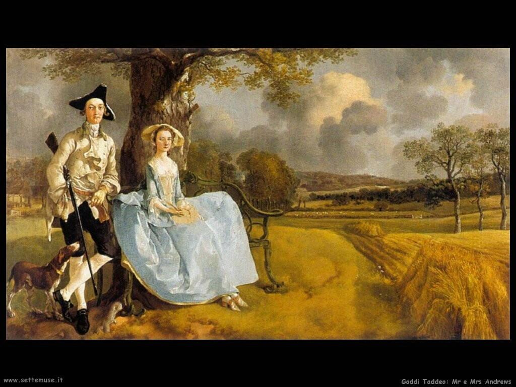 gainsborough thomas Mr e Mrs Andrews