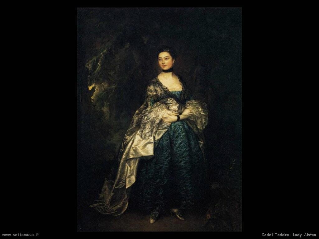 gainsborough thomas  Lady Alston