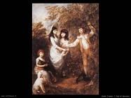 gainsborough thomas I figli di Marsham