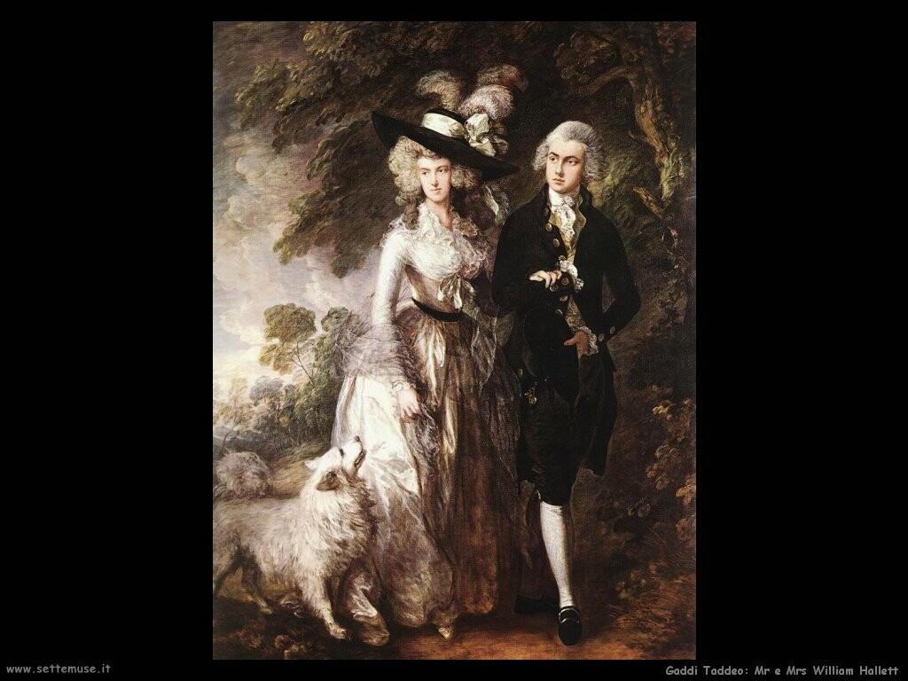 gainsborough thomas Mr e Mrs William Hallett