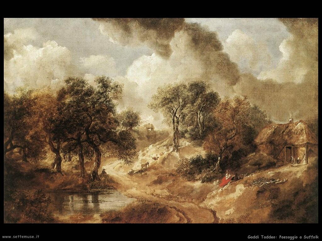 gainsborough thomas Paesaggio in Suffolk