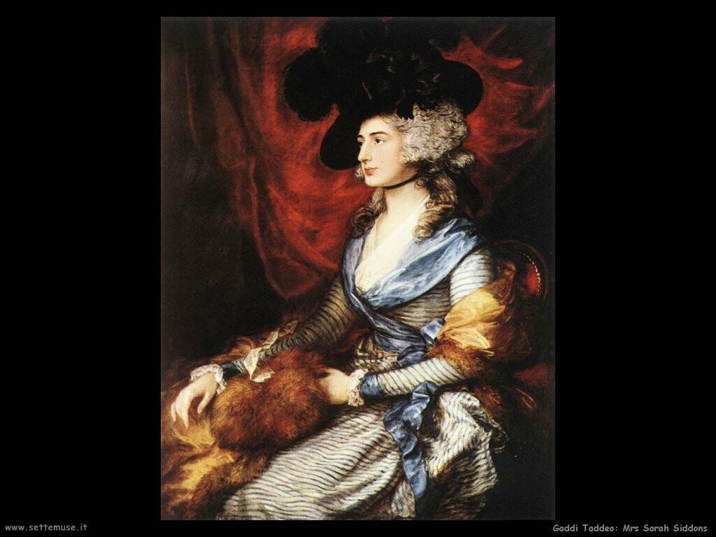 gainsborough thomas Mrs Sarah Siddons